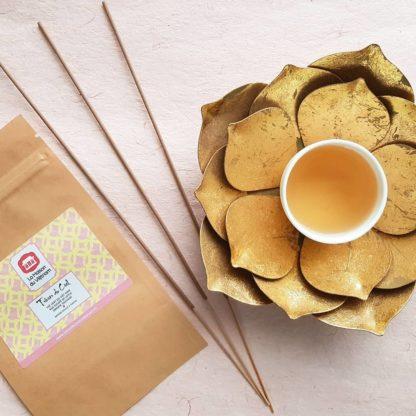 Dégustation - Thé au lotus du Vietnam Trésor du Ciel
