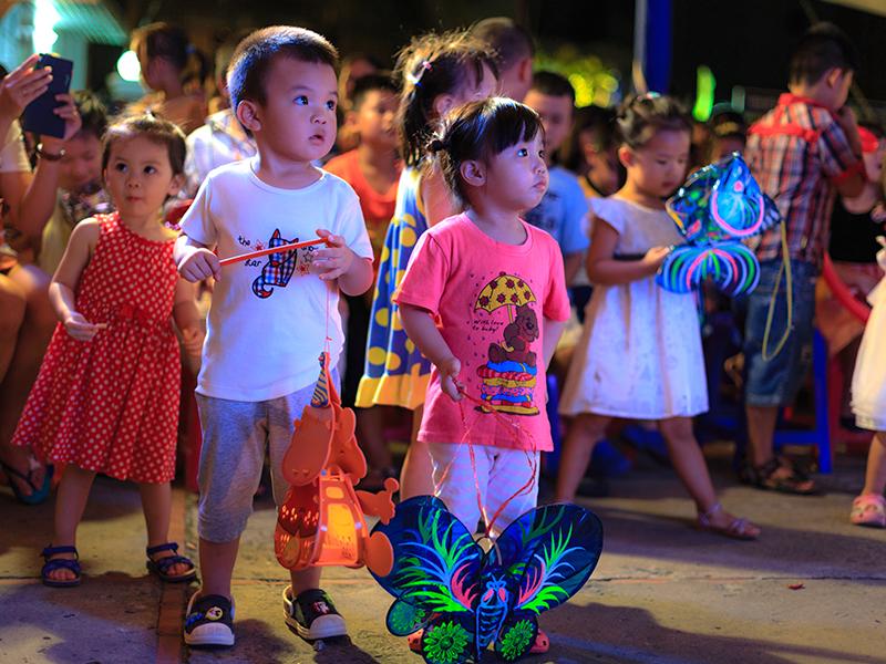 La fête des enfants au Viêt Nam