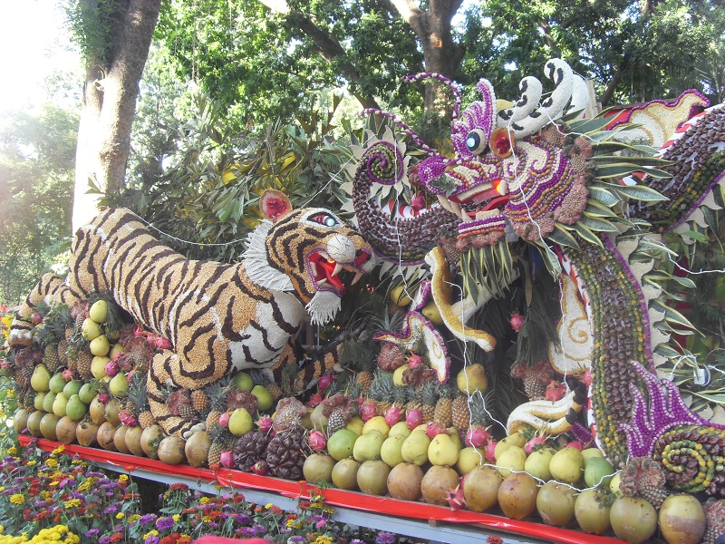 Fruits du Têt Dragon et Tigre