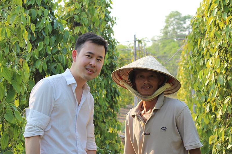 Rencontre avec un petit producteur de poivre de Phû Quoc