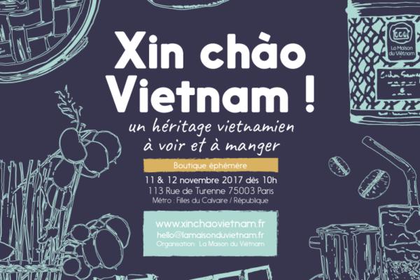 Xin chào Vietnam ! Boutique éphémère à Paris