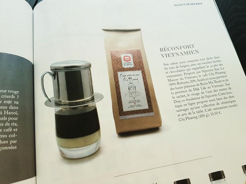 Café Vietnamien Chi Phuong Koi Magazine