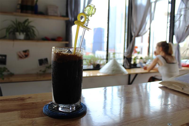 o café negro xeado cà phen đen đá