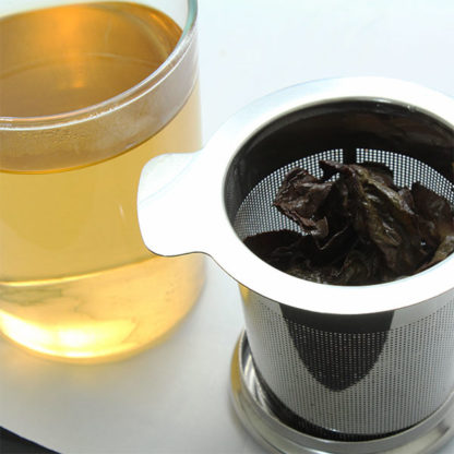 Filtre à thé en inox feuilles de thé