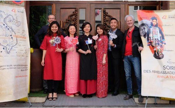 Soiree des Ambassadeurs AmicaTravel x La Maison du Vietnam
