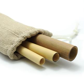 Set Pailles en bambou du Vietnam