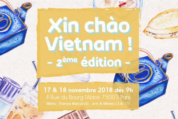 xin chào Vietnam 2018