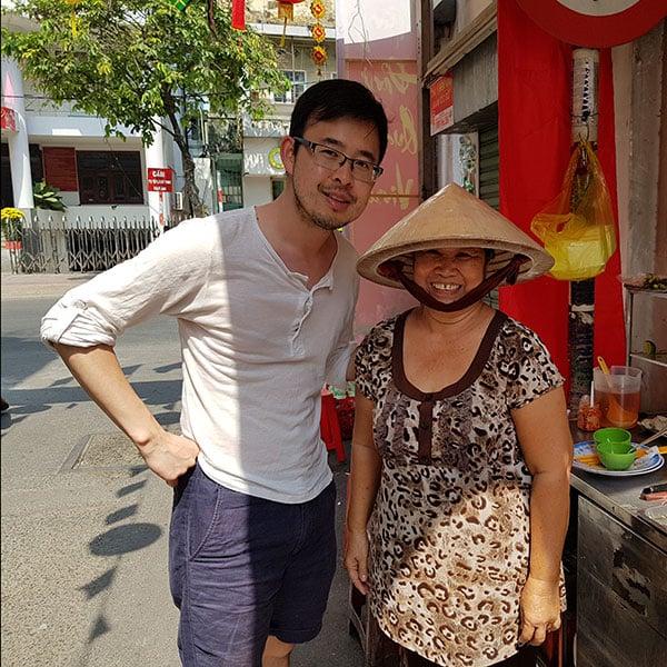 Duy, co-fondateur de la Maison du Vietnam
