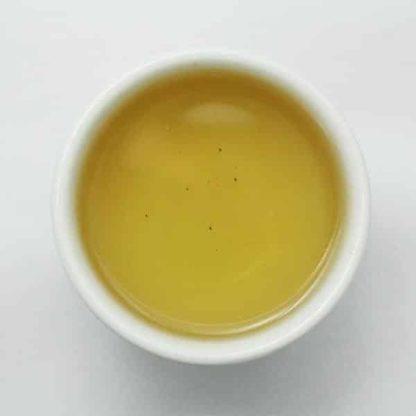 Thé vert Shan Tuyet aux fleurs de Lotus Trésor du Ciel Liqueur