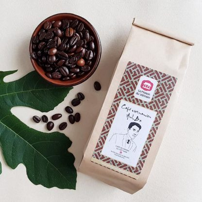 Café vietnamien traditionnel en grains Anh Ba 100% robusta du Vietnam