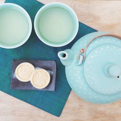 Théière porcelaine céladon Cérémonie de thé