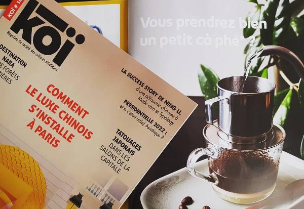 Café Vietnamien Koi Magazine n14 x La Maison du Vietnam