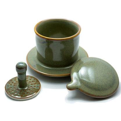 Filtre à café lavable du Vietnam contenu
