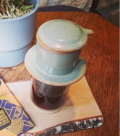 Filtre à café lavable en céramique du Vietnam Cà Phê noir